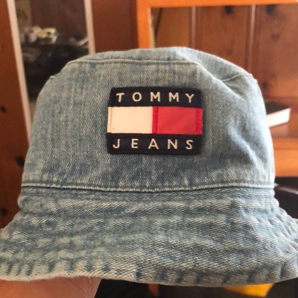 397f4b661 Vintage Tommy Jeans Bucket Hat OSFA